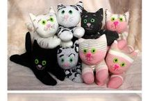 Cute sock dolls