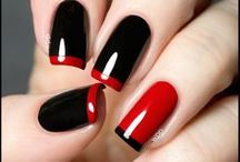 Put your hands in the air! / Nail designs