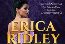 Books by Erica Ridley / Erica Ridley learned to read when she was three, which was about the same time she decided to be a writer when she grew up. Now, she's a USA Today best-selling author of historical romance novels.