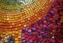 mosaics / pixels you can touch