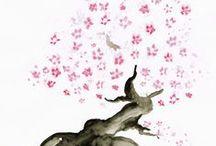 Asia Illustration / Eigene Skizzen und Illustrationen zum Thema Asien