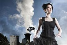 Steampunk / The costumes and books