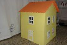 Casa Peppa Pig / Projeto feito em mdf