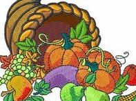 Thanksgiving Embroidery Designs