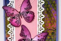 Butterflies & Bugs / A selection of great craft projects utilizing Prickley Pear Stamps various stamps and dies.