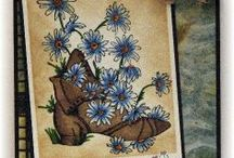 Miscellaneous Images / A selection of great craft projects utilizing Prickley Pear Stamps various stamps and dies.