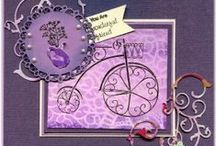 Scalloped Circles / A selection of great craft projects utilizing Prickley Pear Stamps various stamps and dies.