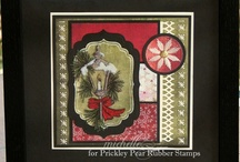 Winter & Christmas #2 / A selection of great craft projects utilizing Prickley Pear Stamps various stamps and dies.