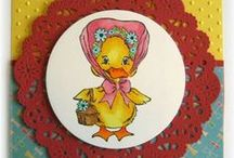 Spring & Easter / A selection of great craft projects utilizing Prickley Pear Stamps various stamps and dies.