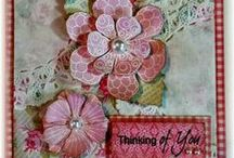 Flowers Selection #2 / A selection of great craft projects utilizing Prickley Pear Stamps various stamps and dies.