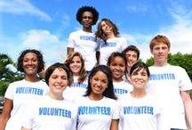 Volunteer / by Stephanie Goldenberg
