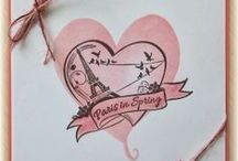 Hearts, Valentines & Love / A selection of great craft projects utilizing Prickley Pear Stamps various stamps and dies.