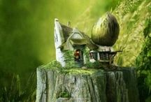 Where the Fairies Live / by Geertje Hans