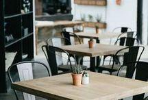 咖啡屋餐厅 / by 雨 伞