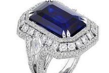 Blue  and Sapphire Jewels