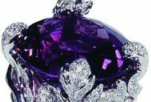 Amethyst and Purple Jewels