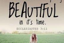 Scriptures & Inspirational Quotes