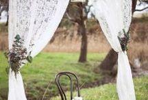 * Altar Wedding * / Seáis tradicionales o alternativos, simples o extravagantes aquí encontraréis inspiración para vuestro altar