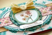 Mothers Day / Who doesn't want to thank Mom for all she's done? A wonderful selection of cards with crafty ideas!