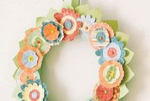 crafts / Usually, small projects. Could be painting, stenciling, papier mache. It is also about soft crafts such as sewing, knitting, etc. Tons of ideas from some very creative people. / by Kris Grove
