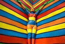 ''Renkli -colores - colors - Farben'' / gök kuşağını oluşturan