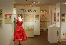 THe 1950's exhibition - 11th July - 26th September 2015 / A little taster of our forthcoming exhibition. Not all these items will be in our exhibition unfortunately but it will be well worth a visit.