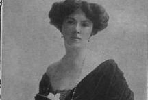 """Lady Anglea Forbes / The first ever """"Forces Sweetheart,"""" a resident of Rutland and founder of the """"Angelina"""" canteens in the First World War."""