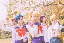 sailor moon cosplay/inners / If you see your photo without the credit given/know the real source - let me know.