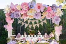 Kids Party and Baby Shower Ideas / ideas originales y DIY para fiestas de cumpleaño infantiles y Baby shower