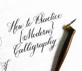 Calligraphy & Hand Lettering / Resources and Guides. Some are free!