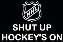 keep calm.... NO IT'S HOCKEY SEASON