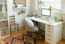 Home Office / Inspiration for my ideal home office/ studio space :)