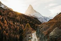 Travel | Switzerland / Switzerland also Home of the Matterhorn...