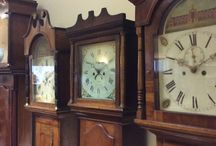 Grandfather / mother clocks / At Rutland County Museum we are lucky enough to have a collection of beautiful Grandfather and Grandmother clocks on display.