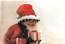 Christmas, New Years, Easter / Art, cards, drawings, paintings