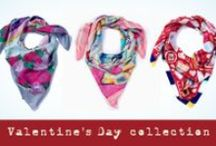 VALENTINE'S DAY COLLECTION - ALPHA GYPSY / Alpha Gypsy's luxury silk scarves with it's romantic colorful & artistic imagery, make the PERFECT 2014 Valentine's day gift.