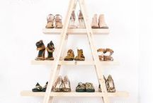 Store your shoes / Clever ideas to organize / store your shoes