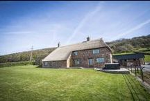 Rock Farm / Rock Farm is a stunning grade II listed farmhouse which has been completely restored and renovated from the ground up to the very highest standard. Opening in March 2014 it combines fantastic heritage with modern luxury. And the views are simply unbeatable!