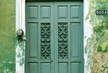 Architecture / Doors, windows and walls from around the world