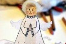 VÁNOCE / CHRISTMAS / Inspirace na zimní, adventní a vánoční tvoření, ale také zdravé a  chutné cukroví!