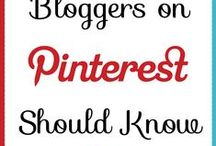 Pinterest for Bloggers / Everything a blogger needs to know about Pinterest.
