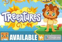 #Treeatures App for kids / Play and mix the Treeatures App for Kids in a funny and awesome combinations!  Boost your children's creative thinking and memorize the missing lovely animals combinations.  #Treeatures