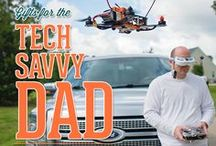 Tech for Dad / Technology for the man in your life. Gift ideas, virtual reality, phones, apps, games, headsets and other tech for Dad.