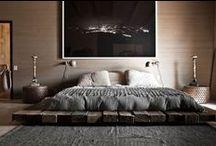 Mieszkanie - sypialnia / Inspirujące wnętrza