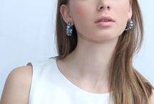 Big hoops: color range / Here you can choose the earrings with the most fitting color hue.