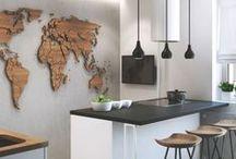 Mieszkanie - kuchnia / Inspirujące wnętrza
