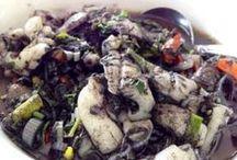 Cumi / Kreasi masakan yang berasal dari daging cumi atau gurita bisa anda temukan disini.