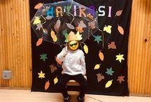 Renk partileri / Okul öncesi etkinlik