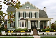 Dream Ideas for my Next Home / - INSIDE AND OUTSIDE - / by Barb Smith