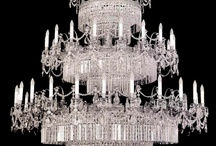 Chandeliers and Lamps / I love a chandelier above my dining room table.  I am always looking to upgrade to a fancier one.  This Board shows photos of many examples (most of which are too pricey) but I still enjoy looking at gorgeous chandeliers . . . and stunning lamps. / by Barb Smith
